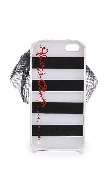 alice + olivia Leg Jeweled iPhone 5 Case