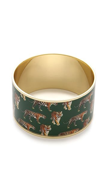 alice + olivia Roaming Tiger Bangle