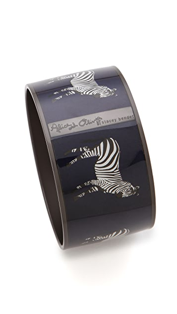 alice + olivia Zebra Safari Bangle