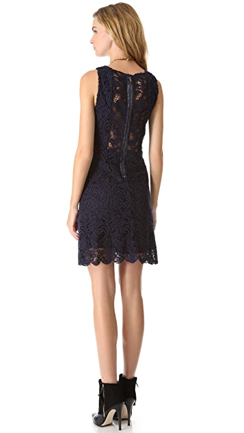 alice + olivia Ingrid A Line Dress