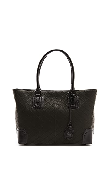 alice + olivia D Quilted Tote Bag
