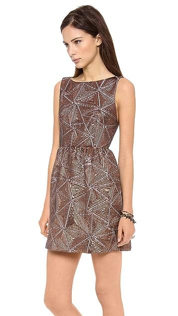 alice + olivia Lillyanne Puff Dress
