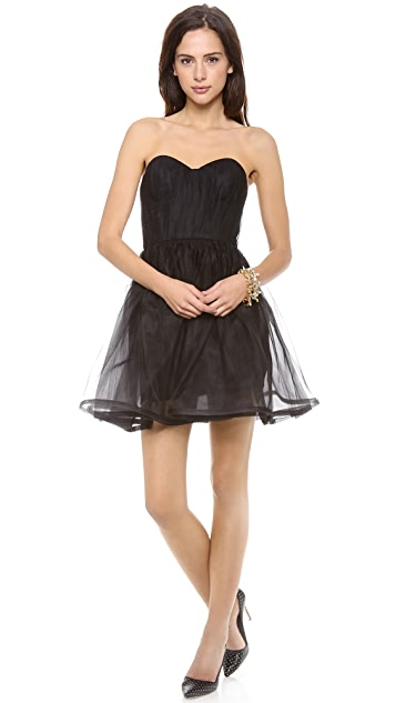 alice + olivia Landi Pouf Dress