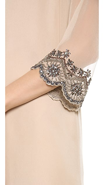 alice + olivia Frieda Embellished Dress