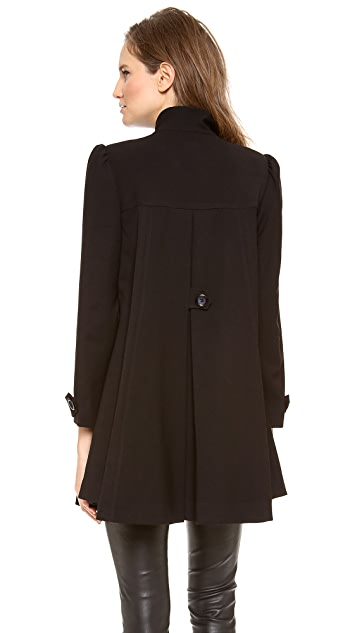 alice + olivia Kylie Swing Coat