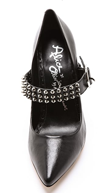 alice + olivia Dover Pumps with Studded Straps