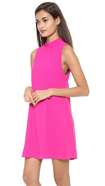 alice + olivia Datay Mockneck Dress
