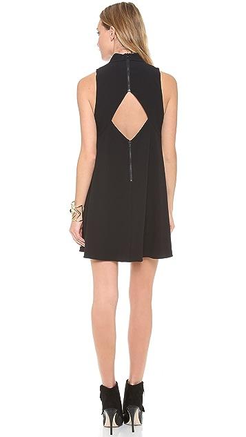 alice + olivia Datay Mockneck Dress