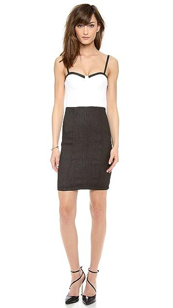 alice + olivia Jasmyn Bustier Dress