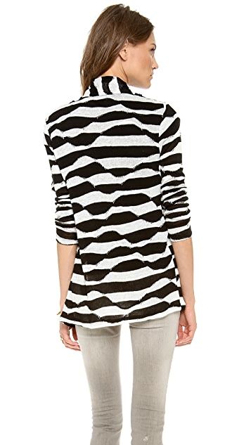 alice + olivia Dezi New Drape Wrap Top