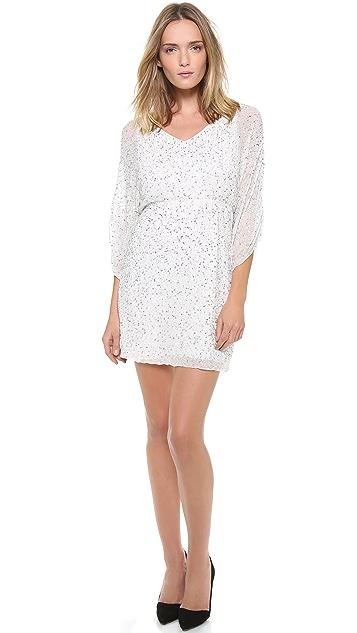 alice + olivia Olympia Embellished Tunic Dress