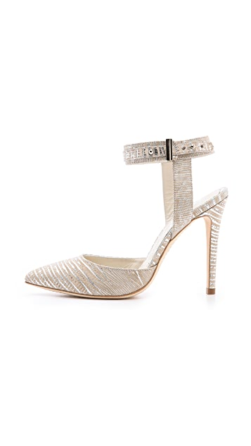 alice + olivia Dayla Metallic Pumps