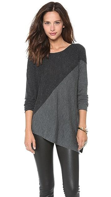 alice + olivia Colorblock Boxy Pullover