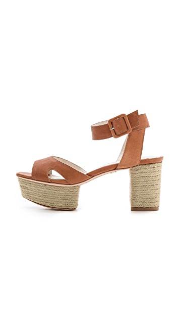 alice + olivia Claire Ankle Strap Sandals