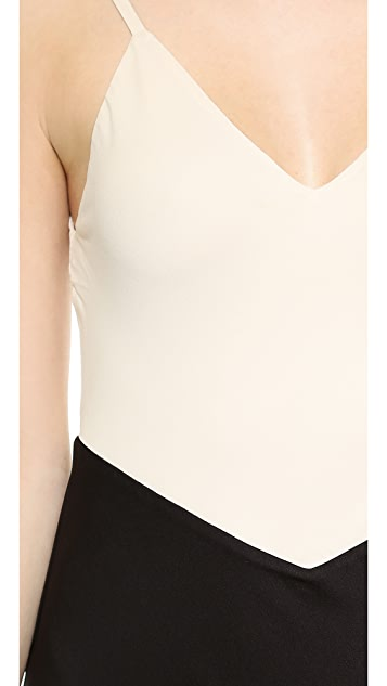 alice + olivia Bredes Trapeze Tank Dress