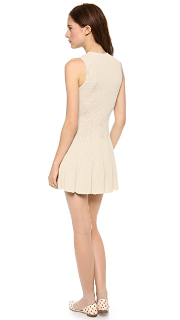alice + olivia Cecilia Capsleeve Knit Dress