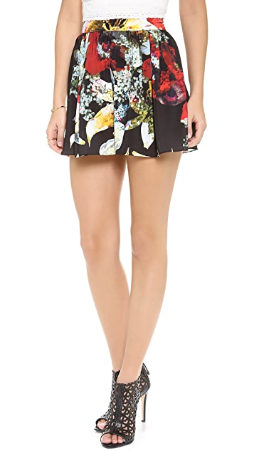 alice + olivia High Waisted Floral Shorts