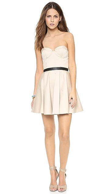 Clearance Fake Alice + Olivia Strapless Mini Dress Cheap Sale Fashion Style Cheap Inexpensive Hot Sale Cheap Online Enjoy Shopping GPUrE