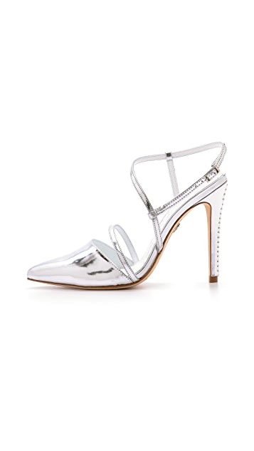 alice + olivia Davey Ankle Strap Pumps