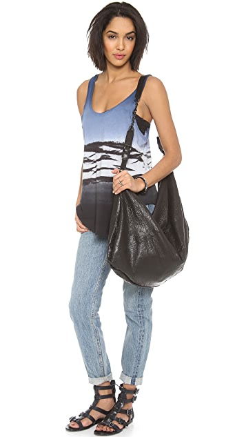 alice + olivia Claudia Oversized Cross Body Bag