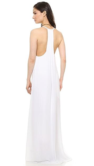 alice + olivia Dove Relaxed Maxi Dress