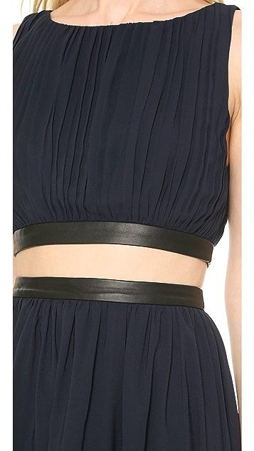 alice + olivia Winny Gathered Dress
