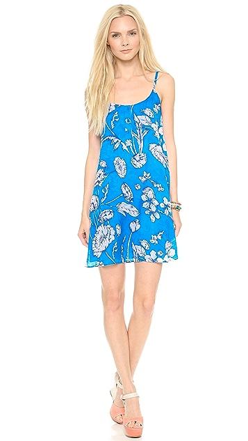alice + olivia Rhi Tiered Hem Tank Dress