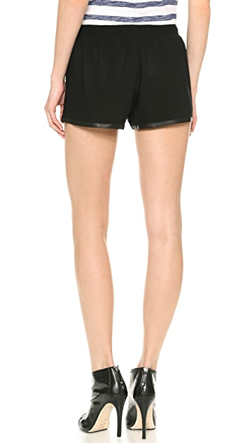 alice + olivia Elastic Waist Jogging Shorts