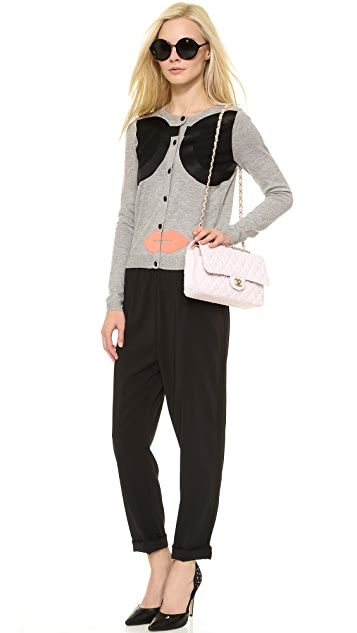 alice + olivia Stace Face Cardigan