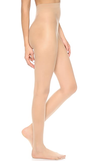 alice + olivia Super Lovely 10D Matt Run Resist Tights