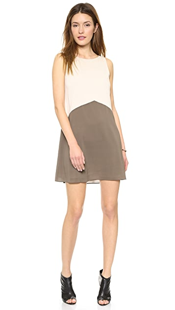 alice + olivia Irina Colorblock Dress