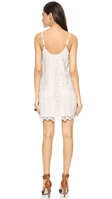 alice + olivia Emmie Slip Dress
