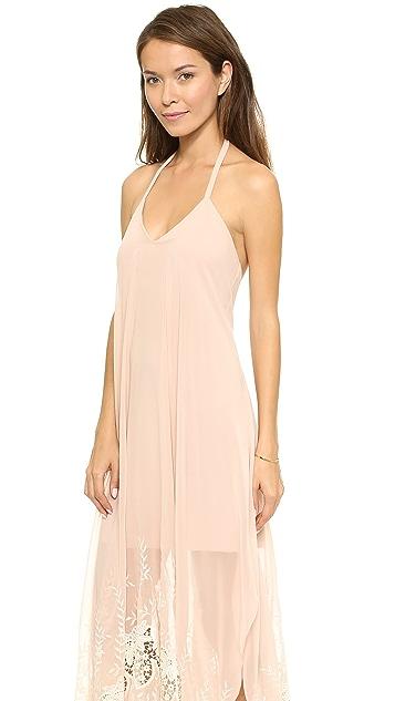 alice + olivia Handkerchief Maxi Dress