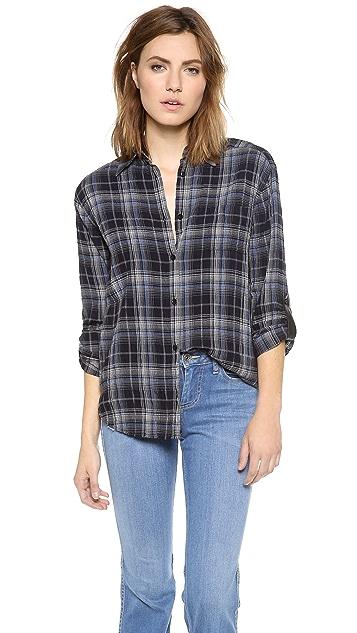 alice + olivia Piper Button Down Shirt