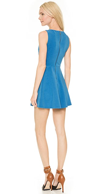 alice + olivia Monah Sleeveless Dress