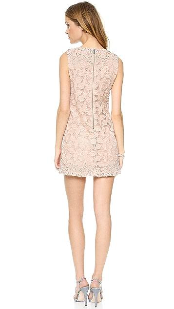alice + olivia Dot Embellished Shift Dress