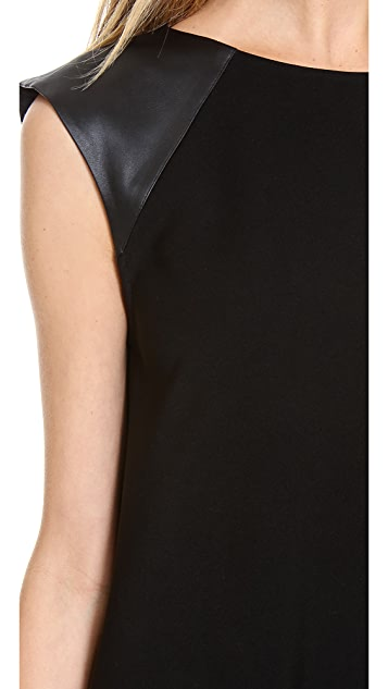 alice + olivia Patty A Line Dress