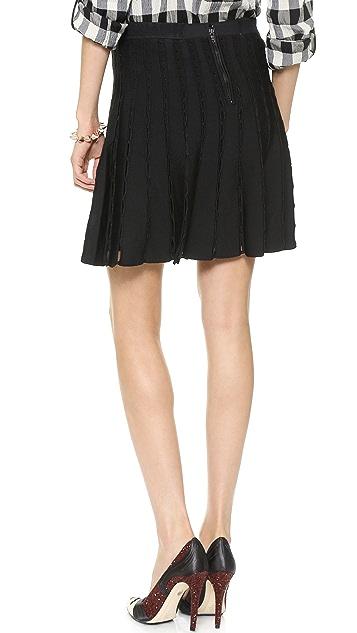 alice + olivia Chatley Sweater Skirt