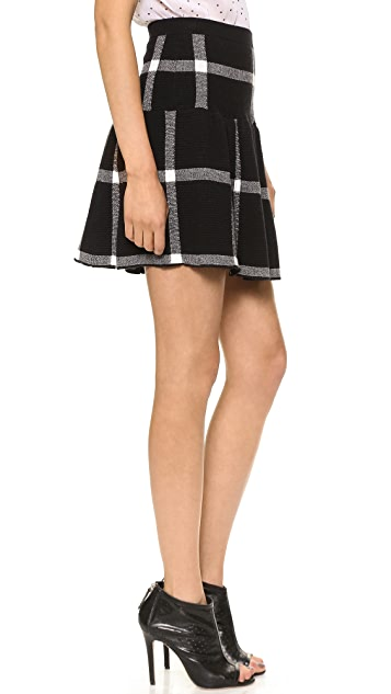 alice + olivia Kimbra Drop Waist Skirt