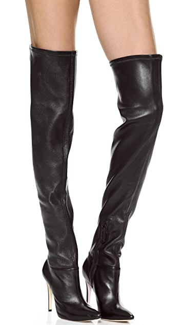 alice + olivia Dae Stretch Over the Knee Boots