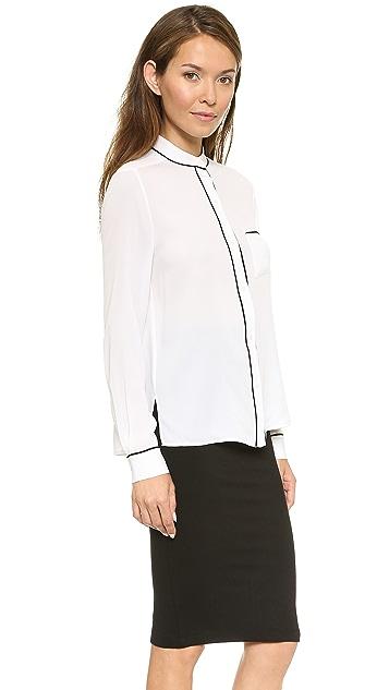 alice + olivia Oversized Pajama Shirt