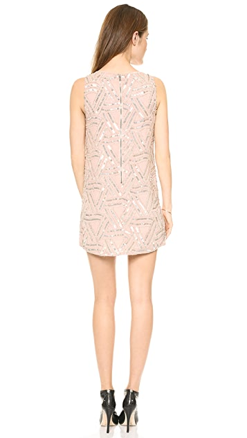 alice + olivia Elliot Embellished Dress