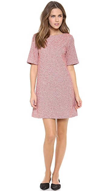 alice + olivia Boe Sleeve Shift Dress