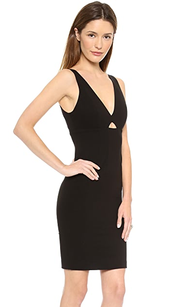 alice + olivia Yve Slim Cutout Dress