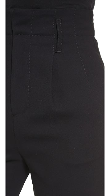 alice + olivia High Waisted Kate Pleat Trousers