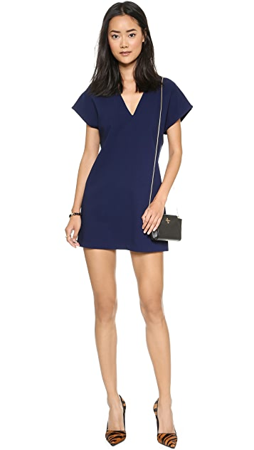 alice + olivia Bema V Neck Tunic Dress