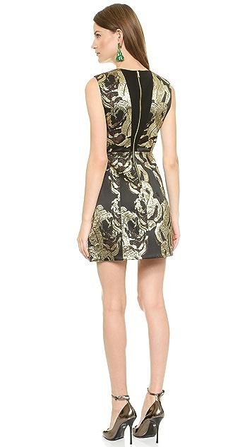 alice + olivia Pacey Lantern Dress