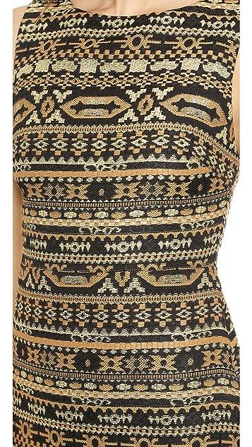 alice + olivia Wilcox A Line Dress