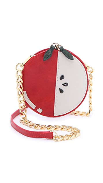 alice + olivia Apple Pouch Cross Body Bag
