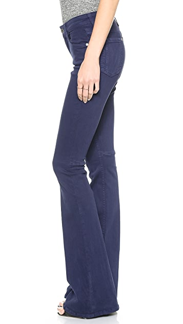 alice + olivia Washed Stacey Bell Pants